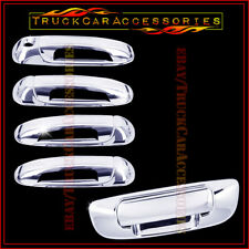 For DODGE Ram 1500 2002-2008 2500/3500 HD 2003-08 Chrome Covers 4 Doors+Tailgate