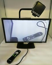 Enhanced Vision Acrobat LCD ACVE24D +Wheeled Case LCD Video Reader Magnifier VGC