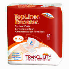 Tranquility Top Liner Booster Contour Pad Case of 120 #3096
