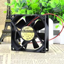 ADDA AD0812MB-A70GL fan 80*80*25mm 2Pin 12V 0.15A