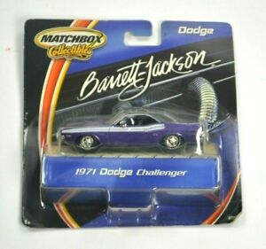 MATCHBOX Collectibles BARRETT JACKSON 1971 Dodge Challenger 1:43 Scale NIB