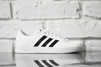 new adidas BREAKNET Shoes Men's 10 white synthetic leather tennis-inspired kicks