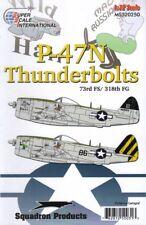 SUPERSCALE decals 32250 1:32 REPUBLIC P-47N THUNDERBOLT 73rd FS/318th FG