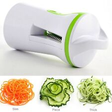 3in1 Spiral Slicer Cutter Spiralizer Shred Vegetable Fruit Twister Peeler Kitche