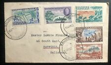 1953 Salisbury Rhodesia FDC First Day Cover Centenary Stamp Issue