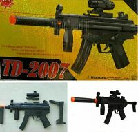 Commando combat Kids Toy Rifle Gun with Flashing Lights Sound Vibration TD2007