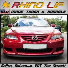 Mazda Rubber Spoiler Splitter Lip 4 Demio Etude Familia Flair Lantis Luce Rotary Fits Saturn Aura