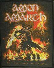 "AMON AMARTH PATCH / AUFNÄHER # 12 ""SURTUR RISING"""
