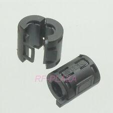 10pc TDK black Φ7mm Cable Clamp Clip RFI/EMI/EMC Noise Filters Ferrite Core Case
