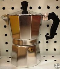 3 Cup Express Stovetop Espresso Coffee Maker Italian Cuban Latte Moka Pot