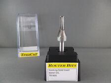 Router Bit-5mmStraight 2F SOLID insert 1/4Shk