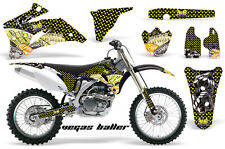 AMR RACING OFF ROAD DIRT BIKE GRAPHIC DECAL KIT YAMAHA YZ 250/450 F 06-09 VBYKM