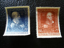 AUTRICHE - timbre yvert et tellier n° 736 737 nsg (A5) stamp austria