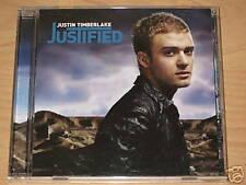 JUSTIN TIMBERLAKE/JUSTIFICADO/ CD ÁLBUM