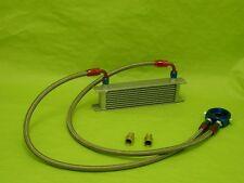 Burstflow Universal Nachrüstsatz Kit Ölkühler 10 Reihen AN08 passend für AUDI VW