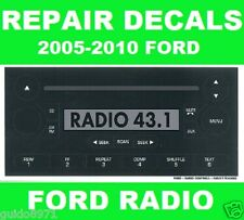 FORD RADIO BUTTON DECALS F-150 -MUSTANG