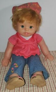 Fisher Price doll  ~Little Mommy Sweet as Me~ Red head