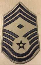 US Air Force E9 Chief Master Sgt. First Sargent Combat Patch Stripes Diamond ABU