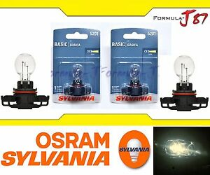 OpenBox Sylvania 12085 5201 PS19W 19W Two Bulbs DRL Daytime Light Replacement OE