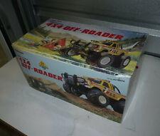 Vintage 1980s Radio Shack 4x4 Off Roader RC Monster Truck Ford Toy WORKS!