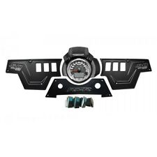 XP1000 3 piece Dash Panel Black Switches 2-4 Door Polaris RZR4 20AMP UTV ATV SXS