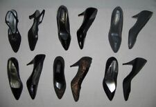 Lot of 6 pairs of Ladies / Woman's Dress Shoes w/ Heels Size 9N + 9AA