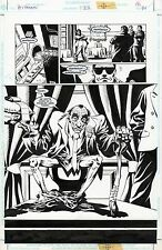 JOHN MCCREA  Original Art Page HITMAN