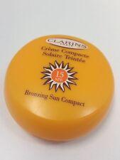 Clarins Bronzing Sun Compact SPF 15 .35 oz/ 10 g NEW
