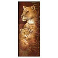 Full Drill 5D DIY Animal Diamond Painting Cross Stitch Kit Home Decor with  v#h9