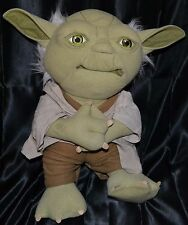 "16"" Talking Yoda Interactive Talks Star Wars Electronic Toy Plush 2011 Just Play"