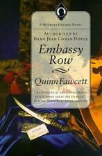 Embassy Row (Mycroft Holmes Novels) by Quinn Fawcett-Paperback-YY-204