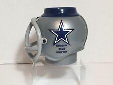 Vintage 1992 NFL Football Dallas Cowboys Super Bowl Champs Plastic Helmet Mug