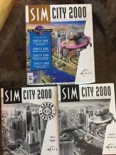 Sim City 2000 PC DOS Instruction Manuals (2) and original box ONLY