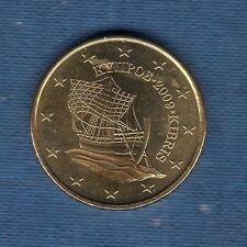 Chypre - 2009 - 50 centimes d'euro - Pièce neuve de rouleau -