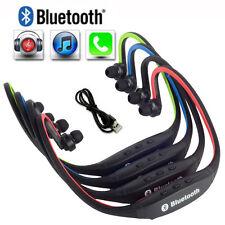 New Wireless Headphone Bluetooth Headset Earphone Earpiece For iPhone Samsung LG