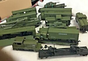 (HO) COX U.S. Army Train items sold individually PreOwned Excellent Cond. VTG