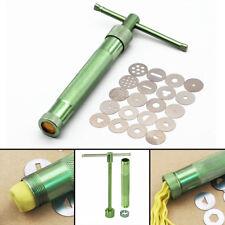 21 Stücke Fondant Presse Metal Extruder Tonpistole Clay Modellieren Zuckerpaste