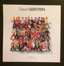 DAVID GERSTEIN, Artist's promotional card, Galeries Bartoux, London