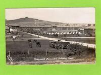 Tidworth Barracks Salisbury Plain RP pc used 1915 Fuller Amesbury