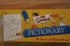 The Simpsons Edition Pictionary USAopoly 2002--FREE SHIPPING--