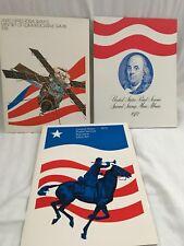 United States Postal Service Commemirative Stamp Sets - Lot Of 3 1972-1974