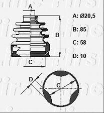 CV JOINT BOOT KIT FOR SUZUKI SWIFT FCB6371