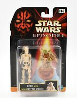 Star Wars Episode 1 - Yoda with Bonus Battle Droid Action Figure Set