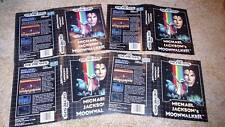 ONE (1) AUTHENTIC BOX ART ONLY Michael Jackson's Moonwalker Sega Genesis