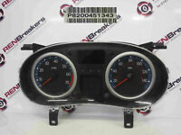 Renault Clio MK2 2001-2006 Instrument Panel Dials Gauges Clocks 105K 8200451343