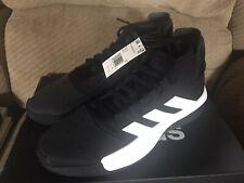 NEW ADIDAS PRO ADVERSARY size 12 M Men's Black/White BASKETBALL athletic shoes