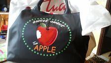 Borsa BRACCIALINI nuovaTua Apple Sweet sweet due manici grande nero nera