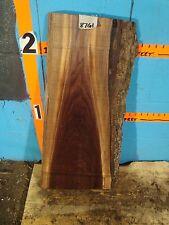 "# 8761, 1 7/8"" thick Black Walnut Live Edge Slab lumber craft wood"