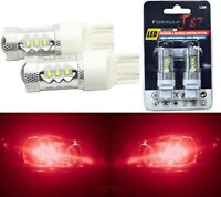 LED Light 80W 7440 Red Two Bulbs Front Turn Signal Replacement Lamp Show OE