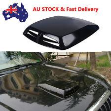 AU Stock Universal Car Air Flow Intake Scoop Turbo Bonnet Vent Cover Hood Black